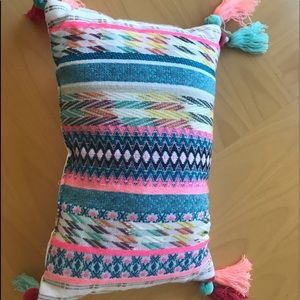 Other - Colorful bohemian Aztec modern pillow